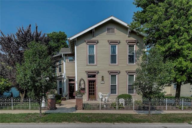 240 N Center Street, Plainfield, IN 46168 (MLS #21589147) :: The Indy Property Source