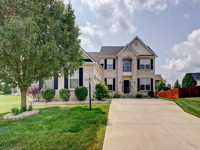 8658 N Autumnview Drive, Mccordsville, IN 46055 (MLS #21589212) :: The Evelo Team