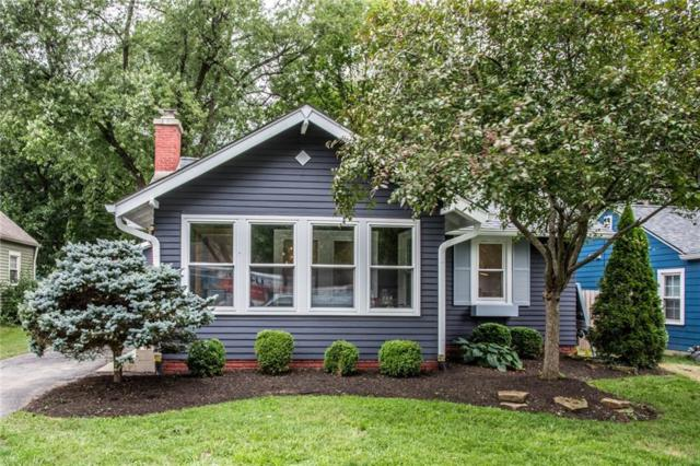 5734 Indianola Avenue, Indianapolis, IN 46220 (MLS #21589334) :: Richwine Elite Group