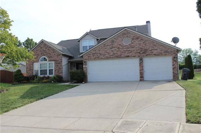4969 Pearcrest Circle, Greenwood, IN 46143 (MLS #21589512) :: The Evelo Team