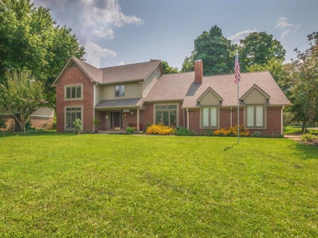 4093 S Carrie Drive, New Palestine, IN 46163 (MLS #21589576) :: The Indy Property Source