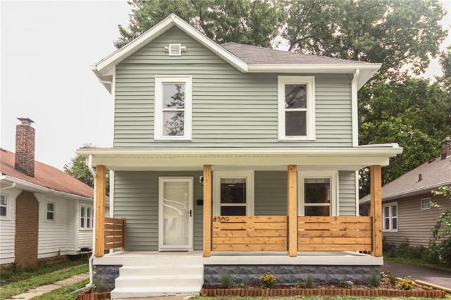 4309 N Guilford Avenue, Indianapolis, IN 46205 (MLS #21589835) :: The Evelo Team