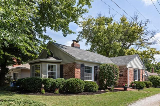 5919 Rosslyn Avenue, Indianapolis, IN 46220 (MLS #21590006) :: Indy Scene Real Estate Team