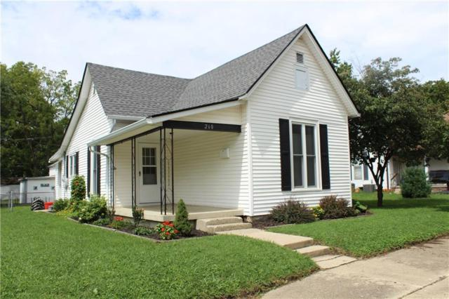 260 West Street, Franklin, IN 46131 (MLS #21590132) :: The Indy Property Source