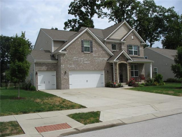 7596 Driftwood Drive, Avon, IN 46123 (MLS #21590513) :: The Indy Property Source