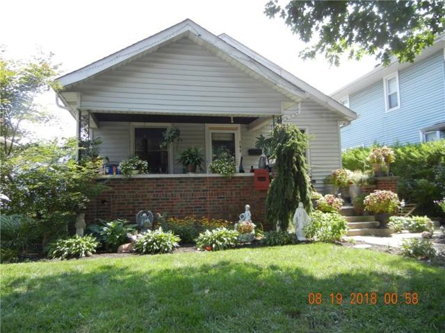 749 Wallace Avenue, Indianapolis, IN 46201 (MLS #21590600) :: The ORR Home Selling Team