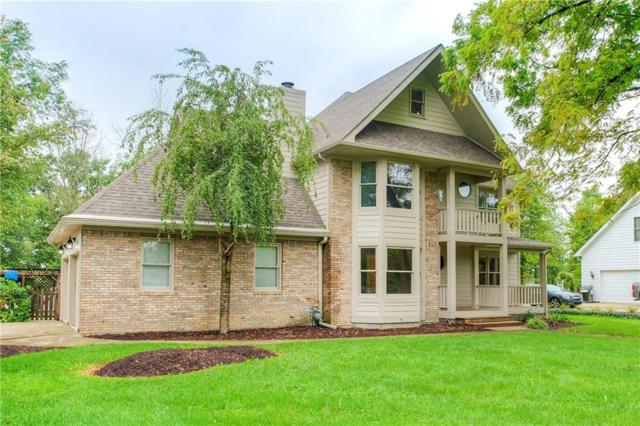 5770 N Red Oak Drive, Greenfield, IN 46140 (MLS #21590602) :: FC Tucker Company