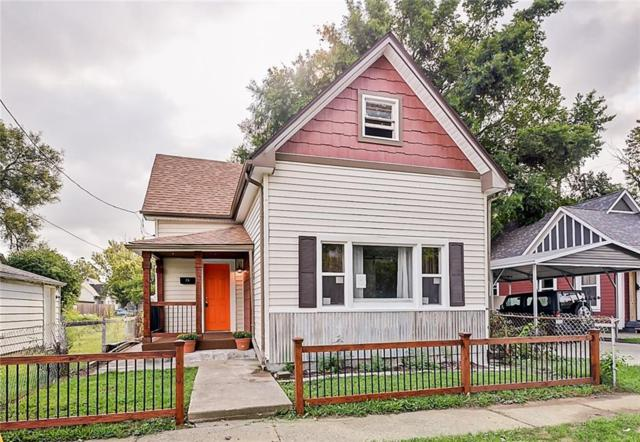 1437 Kennington Street, Indianapolis, IN 46225 (MLS #21591335) :: Mike Price Realty Team - RE/MAX Centerstone