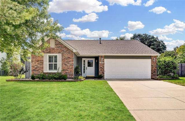 4847 Pineleigh Place, Greenwood, IN 46143 (MLS #21591701) :: The Evelo Team