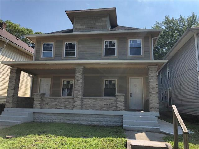 629-631 N Tacoma Avenue, Indianapolis, IN 46201 (MLS #21592006) :: The Evelo Team