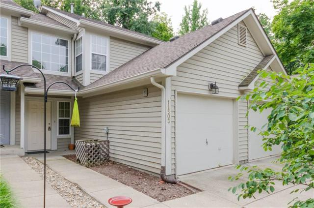 11503 Creekview Lane #21, Indianapolis, IN 46236 (MLS #21592098) :: The Evelo Team
