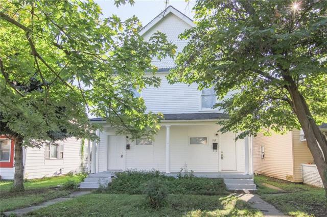209 N Addison Street, Indianapolis, IN 46222 (MLS #21592309) :: The Evelo Team