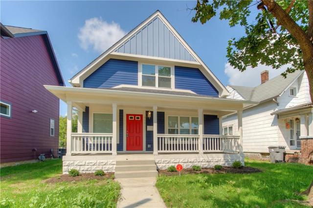 948 N Rural Street, Indianapolis, IN 46219 (MLS #21592333) :: AR/haus Group Realty