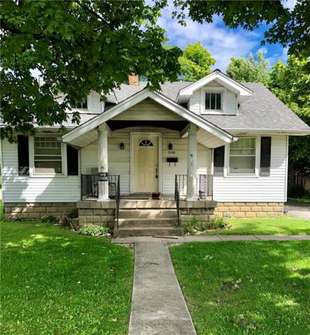 5520 E 21ST Street, Indianapolis, IN 46218 (MLS #21592425) :: Mike Price Realty Team - RE/MAX Centerstone