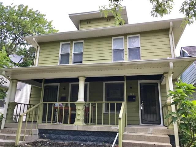417 N Linwood Avenue 417-419, Indianapolis, IN 46201 (MLS #21593029) :: Mike Price Realty Team - RE/MAX Centerstone