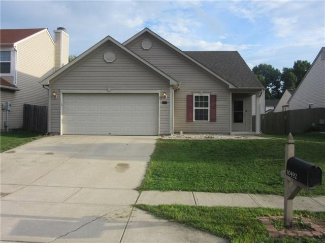 10492 Dark Star Drive, Indianapolis, IN 46234 (MLS #21593211) :: The ORR Home Selling Team