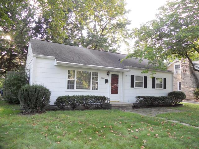 5856 Brouse Avenue, Indianapolis, IN 46220 (MLS #21593573) :: The Evelo Team