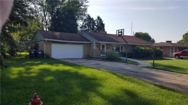 140 Millcreek Drive, Chesterfield, IN 46017 (MLS #21594402) :: The ORR Home Selling Team