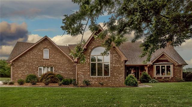 2485 Willow Lake Drive, Greenwood, IN 46143 (MLS #21594573) :: The Evelo Team