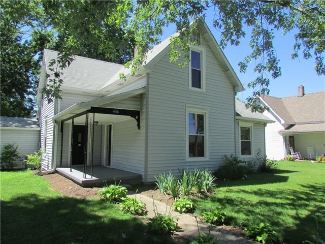 406 N Darlington Street, Jamestown, IN 46147 (MLS #21594721) :: The ORR Home Selling Team