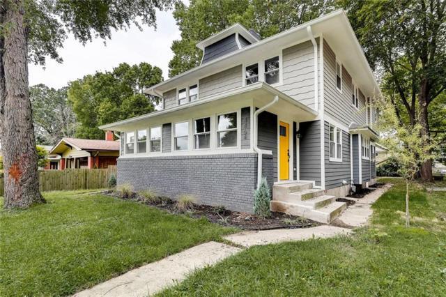 4462 Carrollton Avenue, Indianapolis, IN 46205 (MLS #21595345) :: The Evelo Team