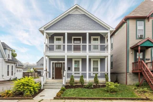 1414 E 10th Street, Indianapolis, IN 46201 (MLS #21595346) :: The Evelo Team