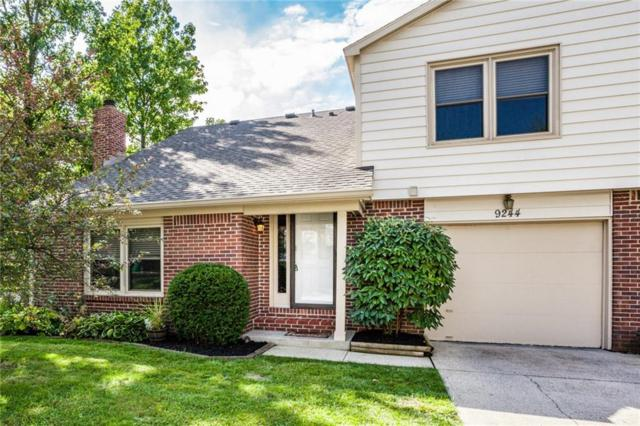 9244 Doubloon Road, Indianapolis, IN 46268 (MLS #21595440) :: The Evelo Team