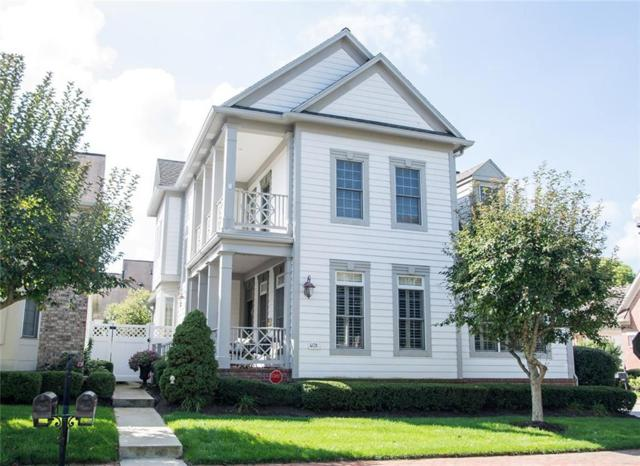 4019 Heyward Place, Indianapolis, IN 46250 (MLS #21595839) :: The Evelo Team