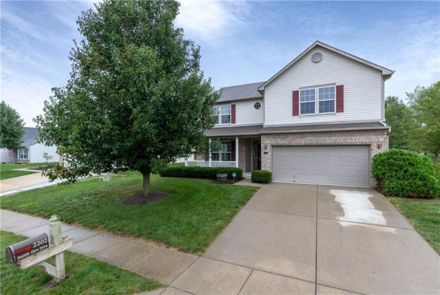2202 Seattle Slew Drive, Indianapolis, IN 46234 (MLS #21596144) :: The ORR Home Selling Team
