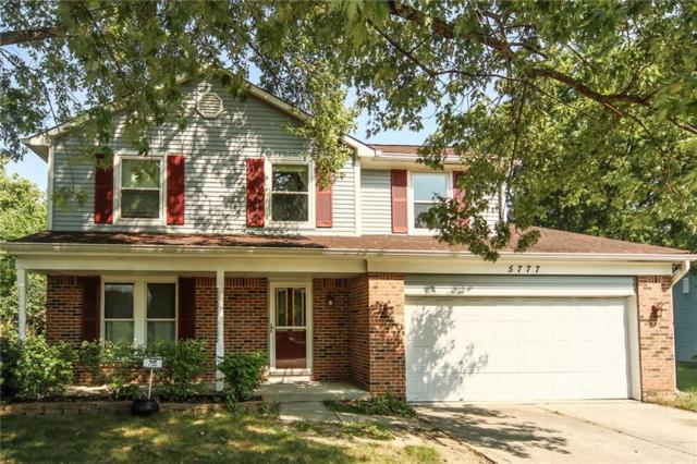5777 Liberty Creek Drive E, Indianapolis, IN 46254 (MLS #21596505) :: Mike Price Realty Team - RE/MAX Centerstone