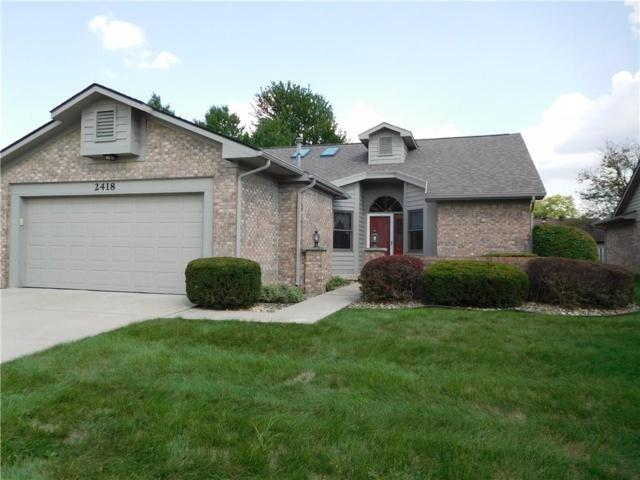 2418 Simpson Lane, Shelbyville, IN 46176 (MLS #21596580) :: Mike Price Realty Team - RE/MAX Centerstone