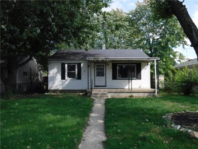 715 S Spencer Avenue, Indianapolis, IN 46219 (MLS #21596643) :: Mike Price Realty Team - RE/MAX Centerstone