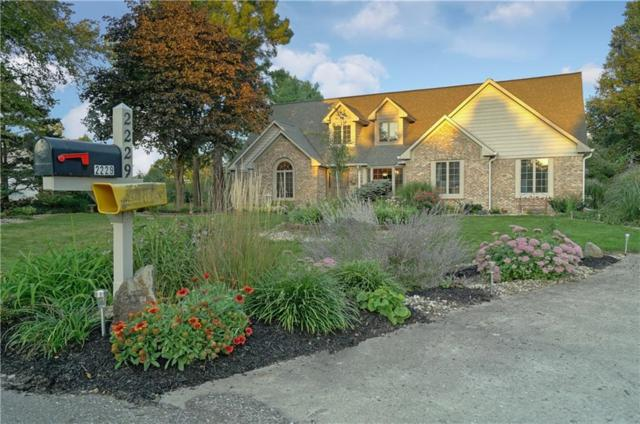 2229 S Oakwood Drive, New Palestine, IN 46163 (MLS #21596669) :: The Indy Property Source