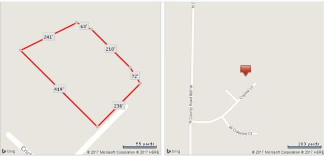 Lot 16 Coyote Lane, Fairland, IN 46126 (MLS #21596931) :: David Brenton's Team