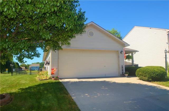 1660 Blue Lake Drive, Greenwood, IN 46143 (MLS #21597185) :: The Evelo Team