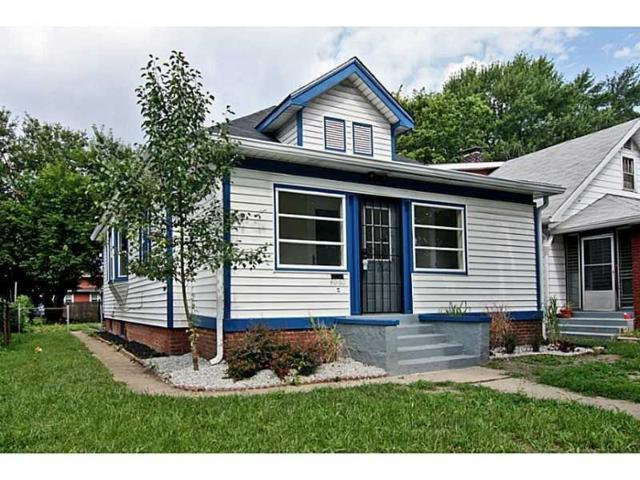 4060 Graceland Avenue, Indianapolis, IN 46208 (MLS #21597536) :: The Evelo Team