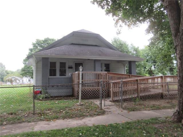 424 Washington Street, Chesterfield, IN 46017 (MLS #21597652) :: The ORR Home Selling Team