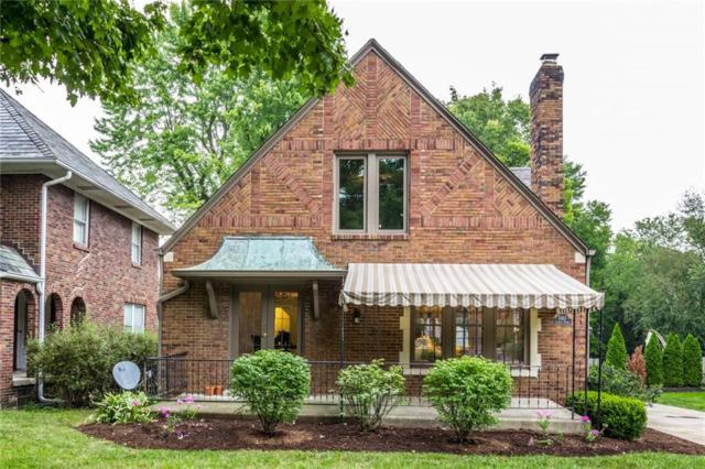 5163 N Illinois Street, Indianapolis, IN 46208 (MLS #21597668) :: Indy Scene Real Estate Team