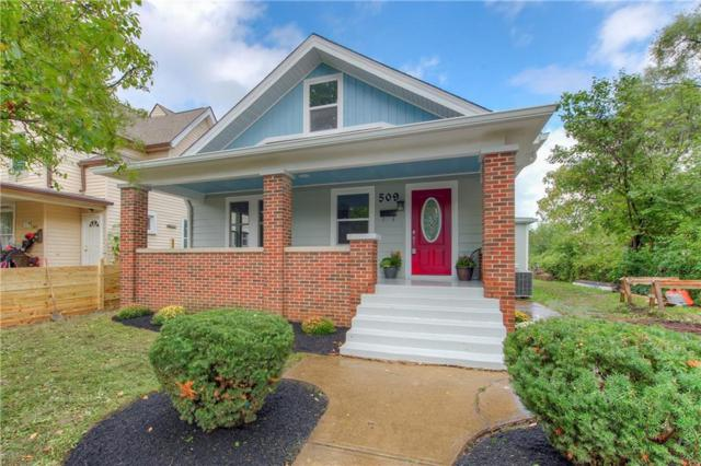 509 N Tacoma Avenue, Indianapolis, IN 46201 (MLS #21597672) :: The Evelo Team