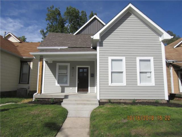 718 Iowa Street, Indianapolis, IN 46203 (MLS #21597815) :: The ORR Home Selling Team
