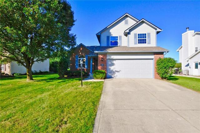 12950 Dellinger Drive, Fishers, IN 46038 (MLS #21598043) :: The Indy Property Source