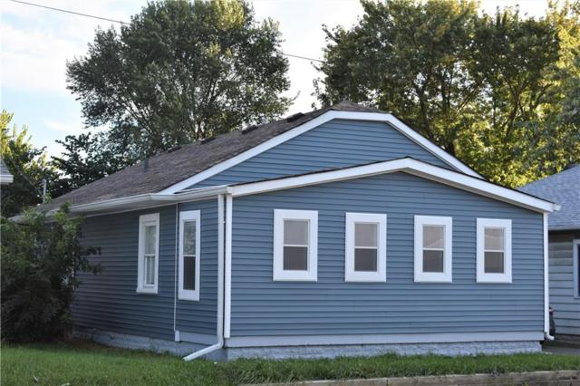 3907 E 16th Street, Indianapolis, IN 46201 (MLS #21598090) :: The ORR Home Selling Team