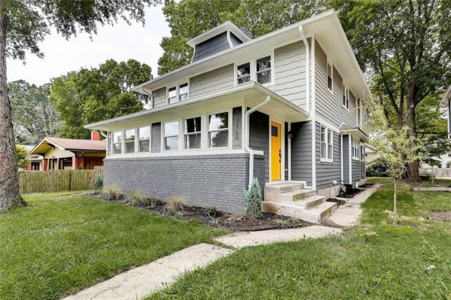 4464 Carrollton Avenue, Indianapolis, IN 46205 (MLS #21598235) :: The Evelo Team