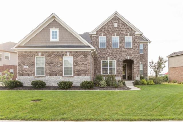 2781 W High Grove Circle, Zionsville, IN 46077 (MLS #21598546) :: The Evelo Team