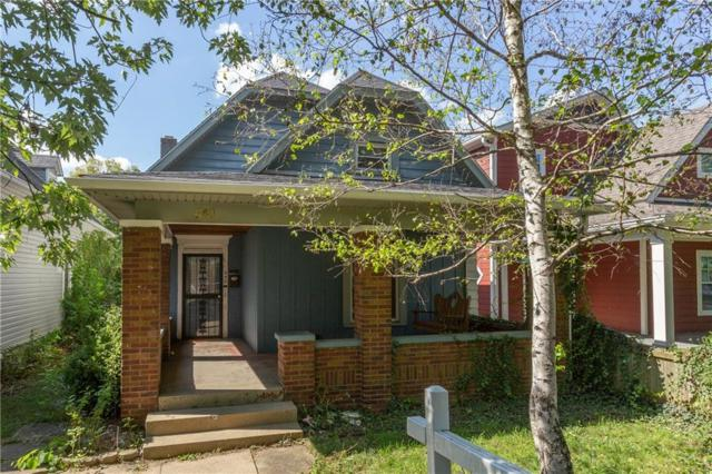 640 N Beville Avenue, Indianapolis, IN 46201 (MLS #21598603) :: HergGroup Indianapolis