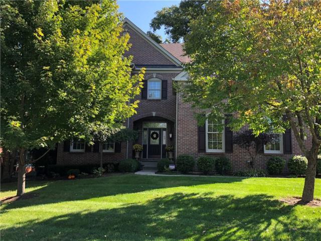 817 Silverleaf Drive, Greenwood, IN 46143 (MLS #21598643) :: The ORR Home Selling Team