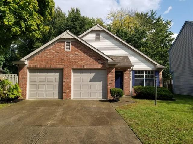 9742 Pine Ridge East Drive, Fishers, IN 46038 (MLS #21599126) :: Mike Price Realty Team - RE/MAX Centerstone