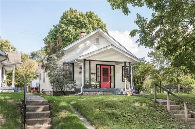 4407 Winthrop Avenue, Indianapolis, IN 46205 (MLS #21599205) :: The Evelo Team