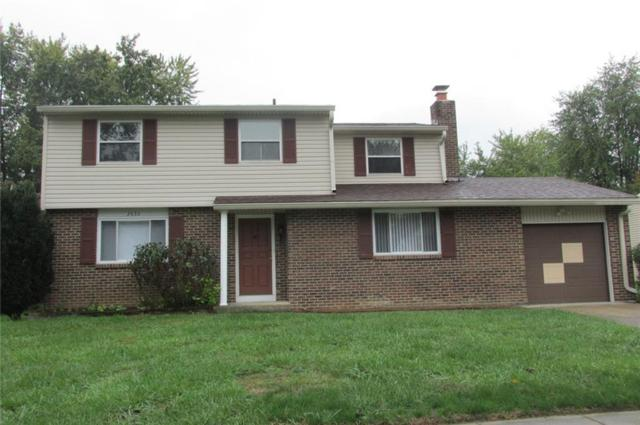 2632 Sheffield Drive, Indianapolis, IN 46229 (MLS #21599945) :: The Evelo Team