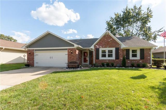 1347 Old Hickory Drive, Greenwood, IN 46142 (MLS #21599966) :: FC Tucker Company